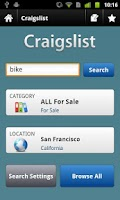 Screenshot of CityShop - App for Craigslist