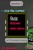 Screenshot of Troll Quiz
