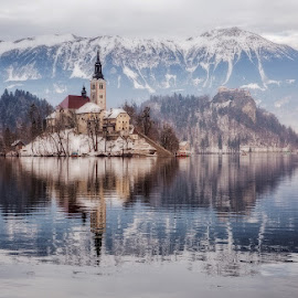 Lake Bled, Slovenia by Klempa None - Landscapes Travel ( slovenia, lake, landscape )