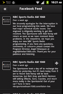 The Fan 1060AM - screenshot