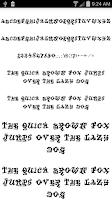 Screenshot of Fonts for FlipFont Graffiti