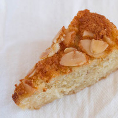 Quick Ginger-Almond Cake