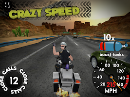 Screenshot of Highway Rider