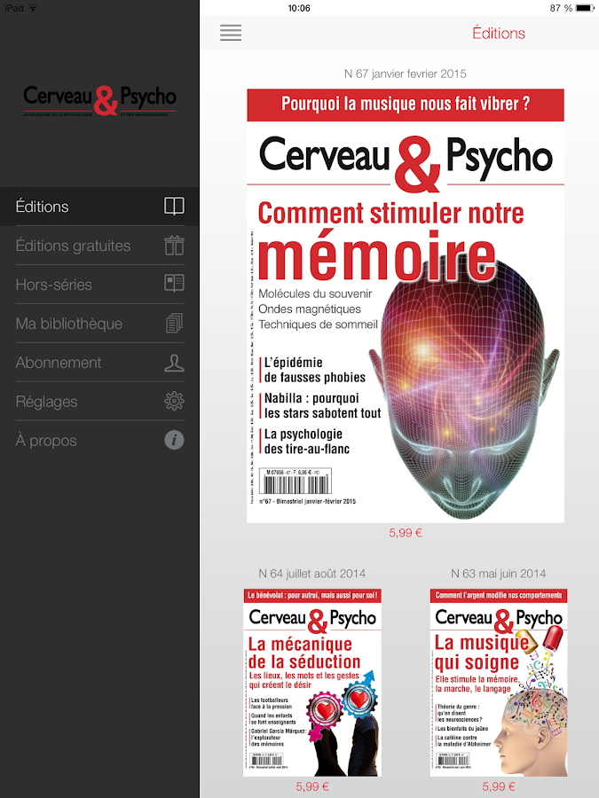 Cerveau & Psycho Screenshot 0