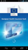 Screenshot of European Health Insurance Card