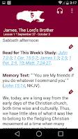 Screenshot of SDA Sabbath School Quarterly