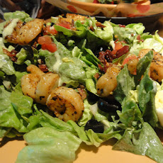 Grilled Shrimp-Watermelon Salad with Honey-Balsamic Dressing