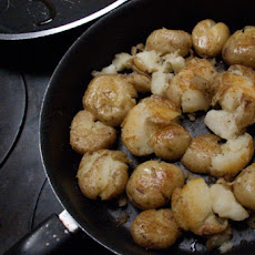 Lori's Skillet Smashed Potato