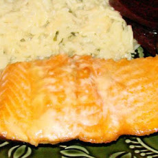 Tangy Barbecued Salmon