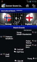 Screenshot of Soccer Score Centre Lite v2