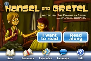 Screenshot of StoryChimes Hansel and Gretel