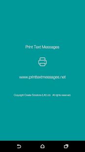 download Print Text Messages