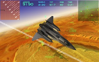 Screenshot of Fractal Combat X