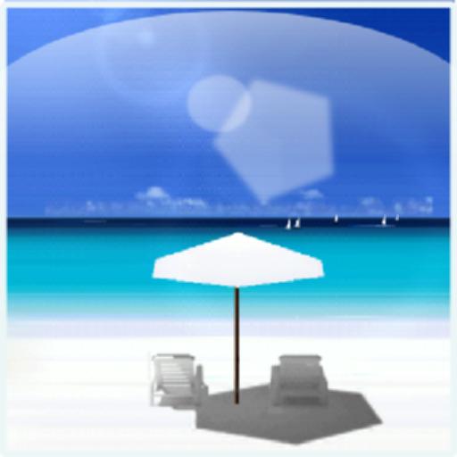 夏季海灘即時壁紙 個人化 App LOGO-APP試玩