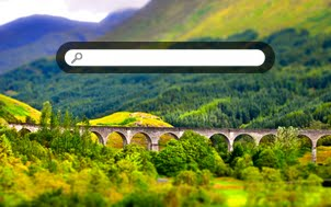 Glenfinnan Viaduct, tilt shift