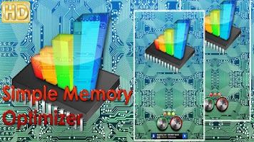 Screenshot of Memory Optimizer Tablet FREE