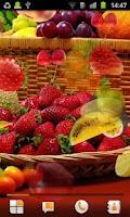 Screenshot of Fruit Live Wallpaper
