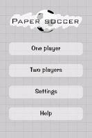 Screenshot of Paper Soccer