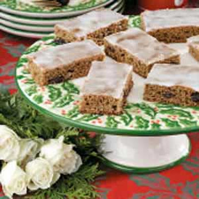 Raisin Cinnamon Bars