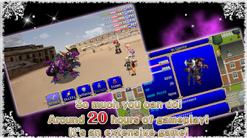Screenshot of RPG Destiny Fantasia - KEMCO