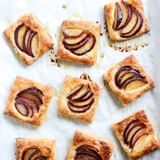 Black Plum Tarts with Brown Butter and Sea Salt