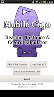 Screenshot of Mobile COGO