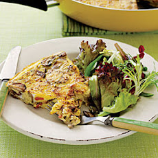 Mushroom and Bacon Frittata