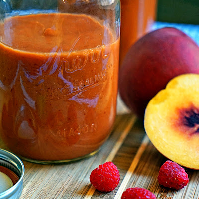 Raspberry Peach Chipotlé BBQ Sauce
