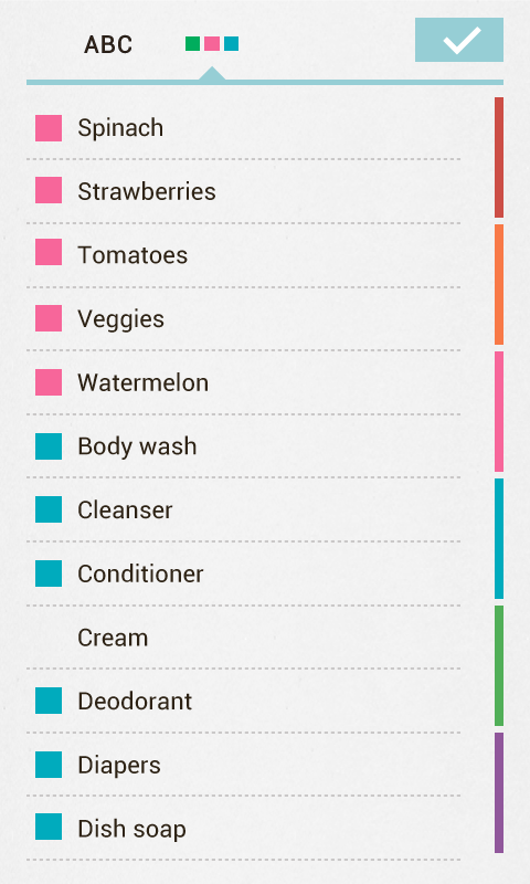 Buy Me a Pie! Grocery List Pro Screenshot 2