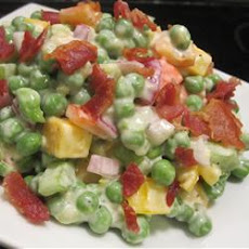 Green Pea Salad With Cheese