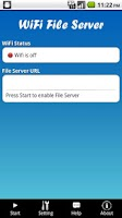 Screenshot of WiFi File Server Pro