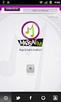 Screenshot of Rádio Massa FM