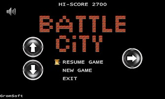 Screenshot of Android Battle City