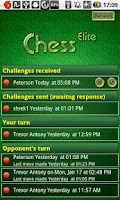Screenshot of Chess Elite