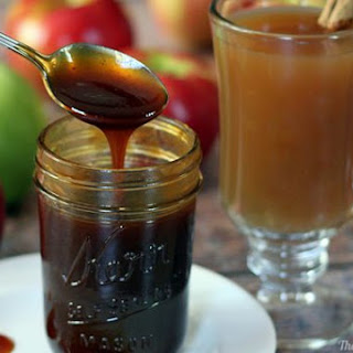 Apple Cider Syrup & Molasses (a natural sweetener)