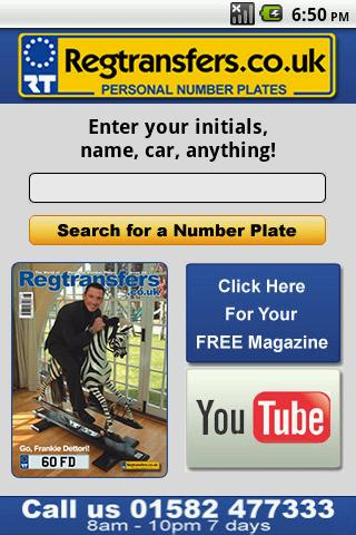Number Plates Search