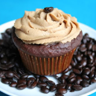 Chocolate Coconut Flour Cupcakes with Espresso Buttercream (Low Carb and Gluten Free)