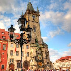 Prague - Old Town by Kaj Andersson - City,  Street & Park  Historic Districts ( old town, praha, prague )