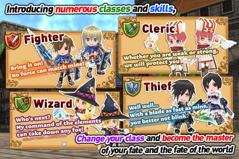 RPG Elemental Knights(3D MMO) Screenshot 2