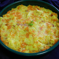 Belgian Stoemp Aux Carottes (Carrot Mashed Potatoes)