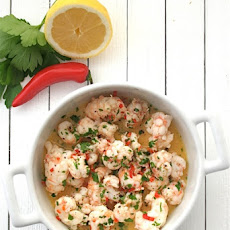 Dublin Bay Prawns with Lemon, Garlic and Chilli