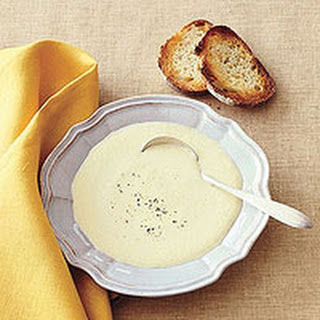 Chilled Leek and Yellow Squash Soup