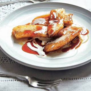 Pan-Fried Bananas with Brandy