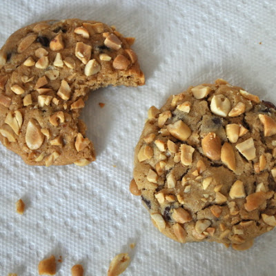Peanut Butter Pebble Cookies