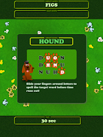 Screenshot of Letter Hound