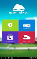 Screenshot of Nuvem de Livros