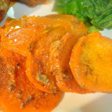Sweet Potatoes in Creamy Cinnamon Sauce