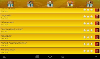 Screenshot of Best Piano Lessons Christmas