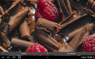 Screenshot of Chocolate Live Wallpaper