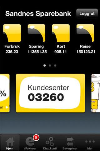 Sandnes Sparebank Mobilbank